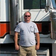 Truck Driving School Graduate Rusty Larson: November 2010