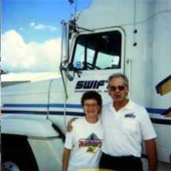 Truck Driving School Graduate Barry and Susan Mello: June 2001