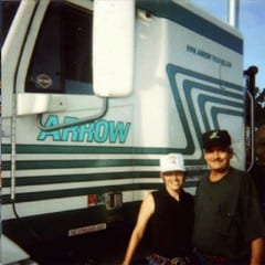 Truck Driving School Graduate Bill and Mildred Willoughby: December 2000