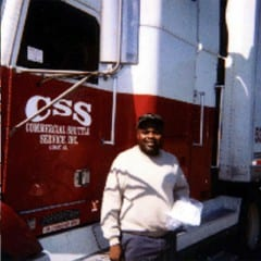 Truck Driving School Graduate Calvin G Gilbert: November 2000