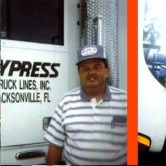 Truck Driving School Graduate Gene E Dykes: October 2000