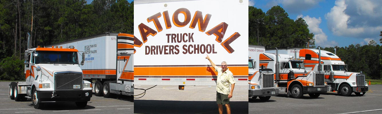 Truck Driving School Student | National Truck Driving School CDL Truck Driver Training