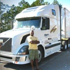 Truck Driving School Graduate Ronnie Moss: March 2008