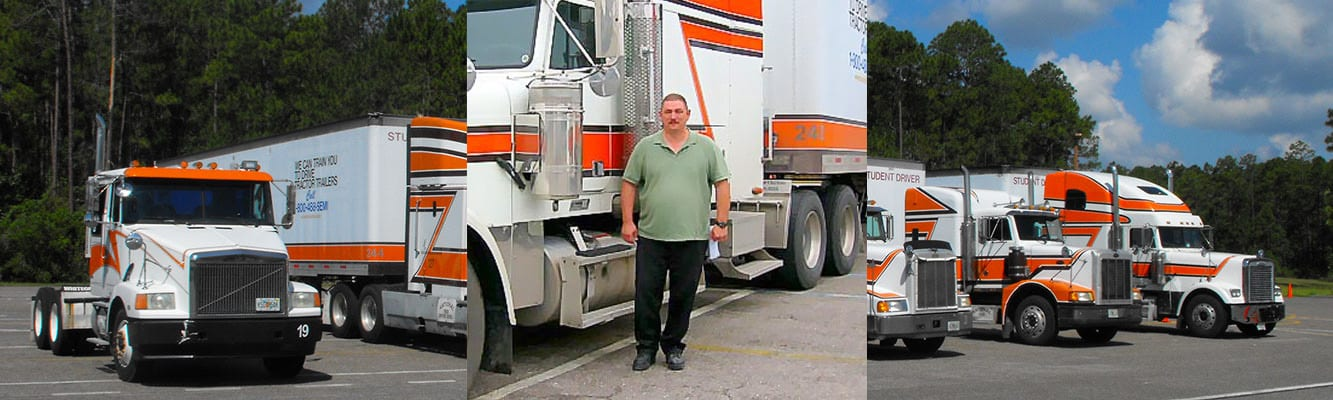 Truck Driving School Student   National Truck Driving School CDL Truck Driver Training