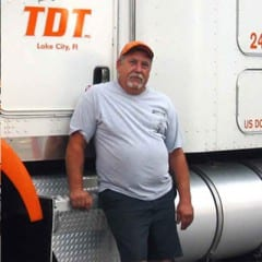 Truck Driving School Graduate Huey Lanier: August 2007