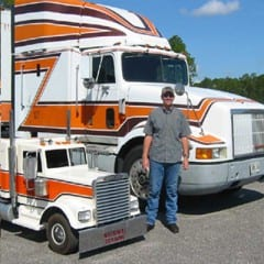 Truck Driving School Graduate Doug Meyer: July 2007