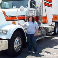 Truck Driving School Graduate Sandy Repsher: April 2007