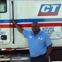 Truck Driving School Graduate Willie White: February 2006