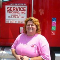 Truck Driving School Graduate Camelia Sebastian: August 2005