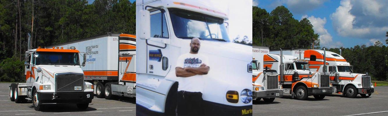 Truck Driving School Student | National Truck Driving School CDL Truck Driver Training