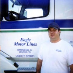 Truck Driving School Graduate Ian Bostocky: November 2004