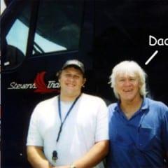 Truck Driving School Graduate Keith Graham: April 2004