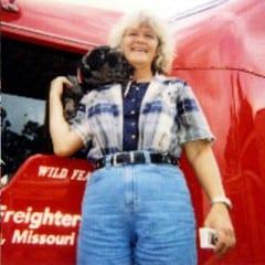 Truck Driving School Graduate Jeannette C Sares: February 2003