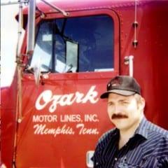 Truck Driving School Graduate Clarke E Trivett: August 2002