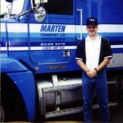 Truck Driving School Graduate Steven Losey: February 2002