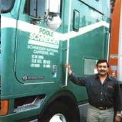Truck Driving School Graduate Maqsood Janjua: January 2002