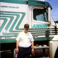 Truck Driving School Graduate Ben Goss : November 2001
