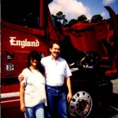 Truck Driving School Graduate David and Elisabeth Oulton: October 2001