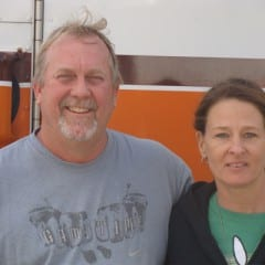 Truck Driving School Graduate Michael and Mary Gambrell