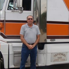 Truck Driving School Graduate Timothy Kanouse