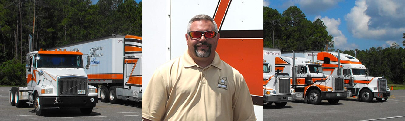 Grady Parris - Graduate of National Truck Driving School