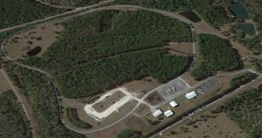 Aerial view of National Training's 350-acre Training Grounds