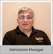 Andrew McLoughlin, Admissions Manager of CDL school and Earth Movers School