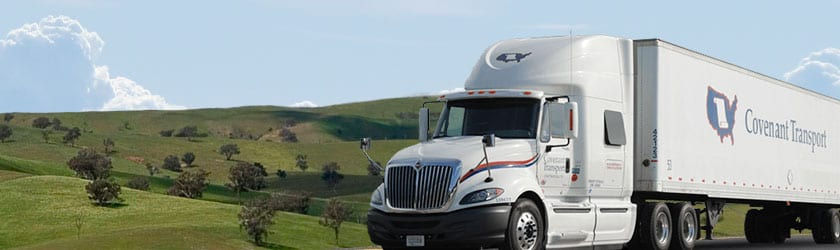 Covenant Transport Truck Driving School | National Truck Driving School CDL Truck Driver Training