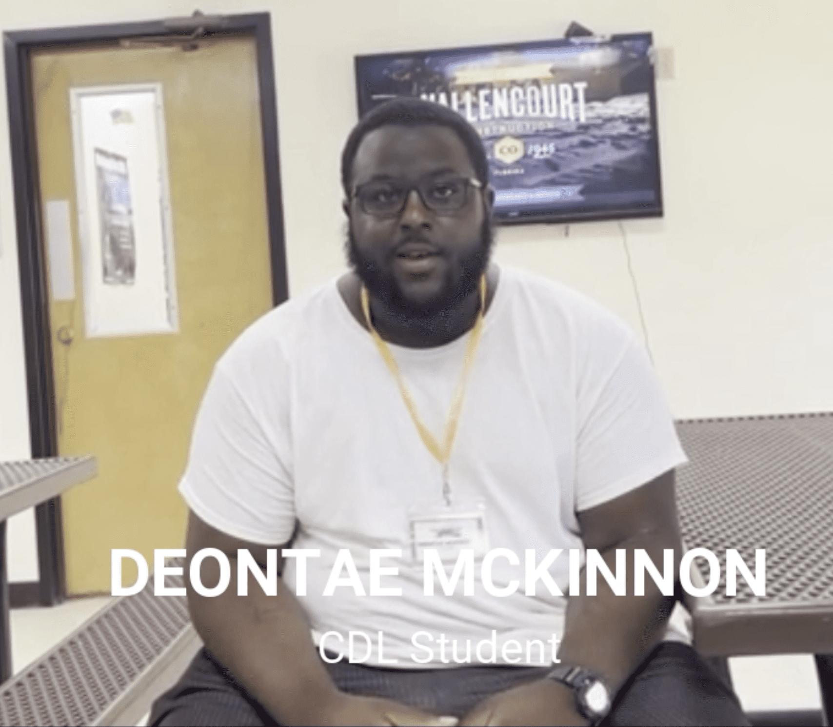 Graduate Deontae Mckinnon